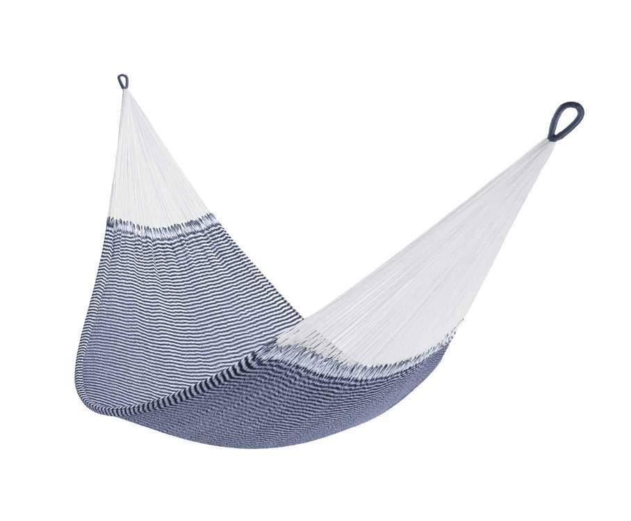 """<h2>Best Hammock For Backyard</h2><br><h3>Yellow Leaf Hammocks Signature Hammock</h3><br><strong>The Hype</strong>: 4.9 out of 5 stars and 273 reviews<br><br><strong>Reviewers say:</strong> """"This is our third Yellow Leaf Hammock. They are the most comfortable hammocks around. This one is on our screened-in porch, perfect for napping, reading, or just grabbing some alone time.""""<br><br><em>Shop</em> <strong><em><a href=""""https://www.yellowleafhammocks.com/"""" rel=""""nofollow noopener"""" target=""""_blank"""" data-ylk=""""slk:Yellow Leaf Hammocks"""" class=""""link rapid-noclick-resp"""">Yellow Leaf Hammocks</a></em></strong><br><br><strong>Yellow Leaf Hammocks</strong> Signature Hammock, $, available at <a href=""""https://go.skimresources.com/?id=30283X879131&url=https%3A%2F%2Fwww.yellowleafhammocks.com%2Fproducts%2Fdouble-hammock-nautical-seersucker-vineyard-haven"""" rel=""""nofollow noopener"""" target=""""_blank"""" data-ylk=""""slk:Yellow Leaf Hammocks"""" class=""""link rapid-noclick-resp"""">Yellow Leaf Hammocks</a>"""