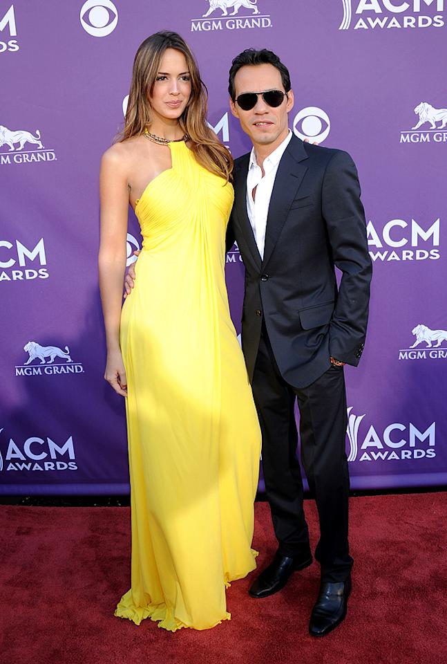 "<p class=""MsoNormal"">Jennifer who? J.Lo's ex, singer Marc Anthony, brought new 24-year-old girlfriend Shannon De Lima, a Venezuelan model, as his date to the ceremony. As expected, she looked rather modelesque in her canary-yellow gown. </p>"