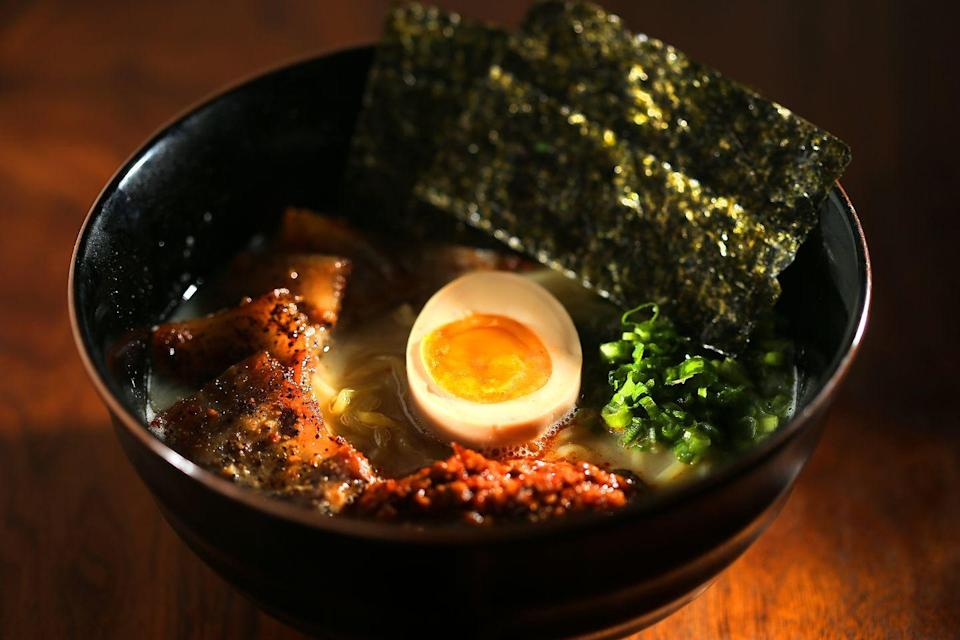 <p>Momofuku Noodle Bar in New York City made ramen its signature dish, and it opened Americans' eyes to the wonders of the Japanese dish. By 2008, Japanese chain Ippudo opened its first location in New York.</p>
