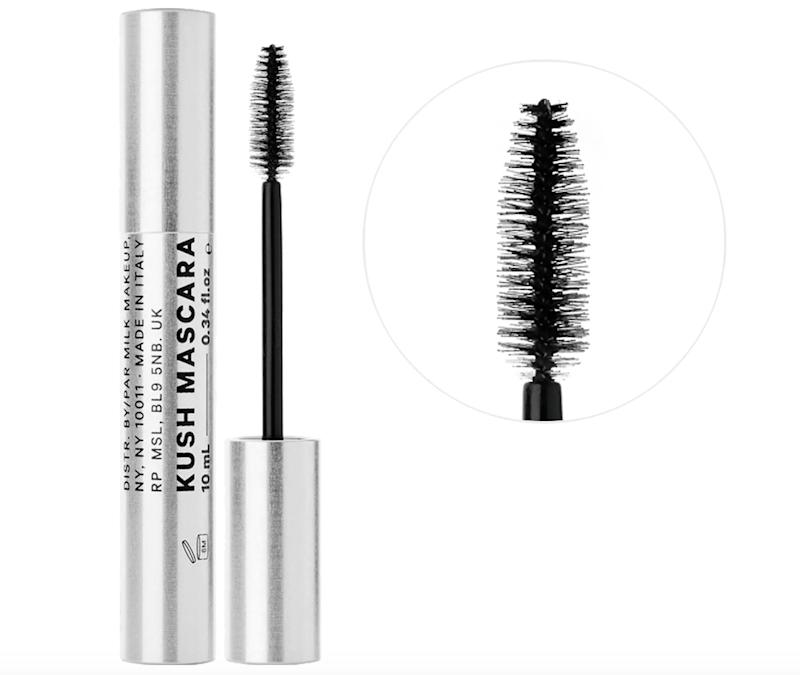 "This <a href=""https://fave.co/2AQPTHa"" target=""_blank"" rel=""noopener noreferrer""><strong>vegan mascara</strong></a> uses nourishing, hemp-derived cannabis seed oil (instead of the more commonly used beeswax) to fuse heart-shaped fibers to your lashes for thickening volume. While also conditioning lashes for a smooth application and removal.<br />&lt;br&gt;<strong> Rating</strong>: 4-star<br />&lt;br&gt;<strong> Reviews</strong>: 3,000<br />&lt;br&gt; <strong>Loves</strong>: 50,000<br />&lt;br&gt;&nbsp;<a href=""https://fave.co/2AQPTHa"" target=""_blank"" rel=""noopener noreferrer""><strong>Get it here</strong></a>"