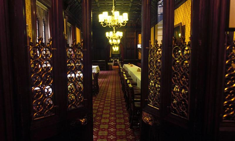 The peers' dining room