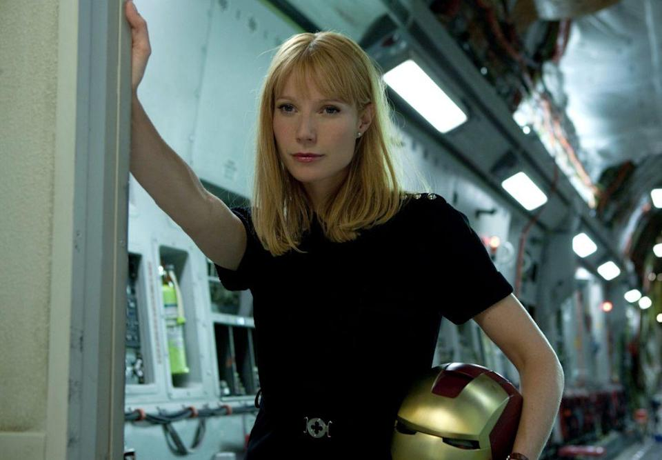 <p><strong>Total 28m 15s</strong> of 2hrs 4m (35.03% of running time)</p><p><strong>Pepper Potts</strong> appears for 17m 30s (scroll down for more)</p><p><strong>Natasha Romanoff</strong> appears for 9m 15s</p><p><strong>Christine Everhart</strong> appears for 1m 30s</p>