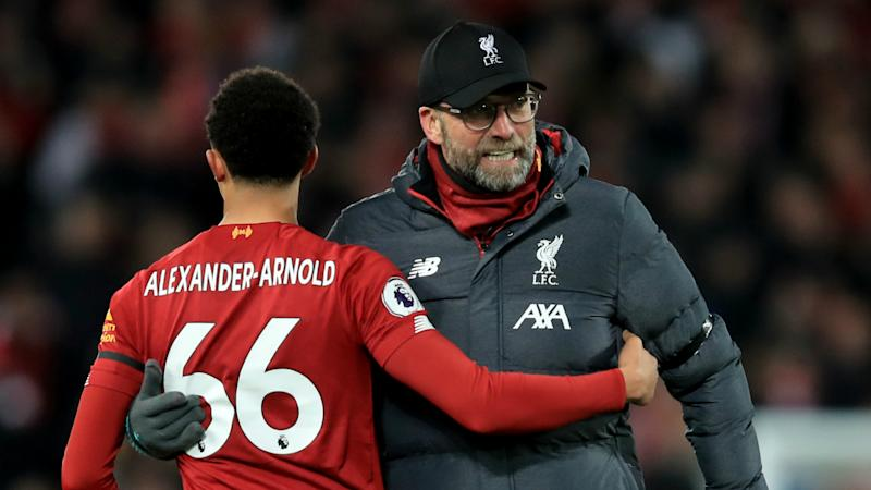 Klopp's impact at Liverpool 'mind-blowing', says Alexander-Arnold