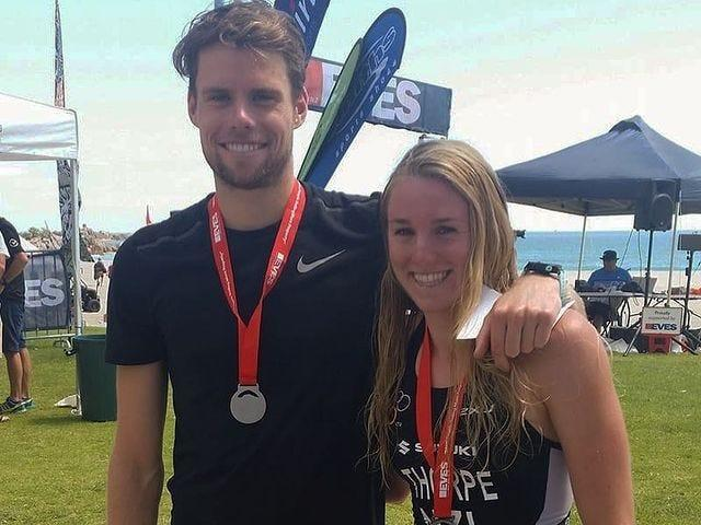 Olympians Ainsley and Trent Thorpe