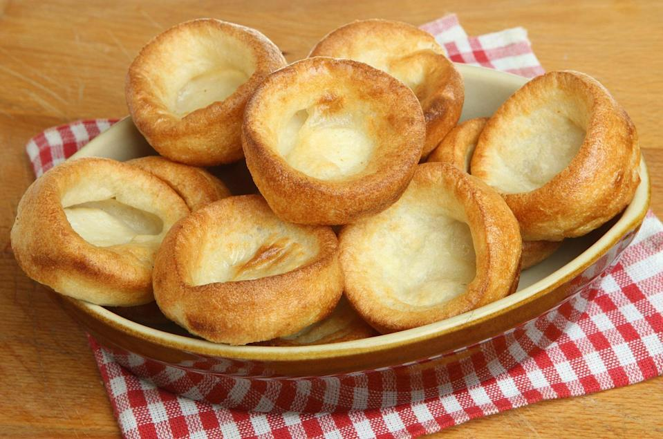 """<p>Yorkshire pudding is a classic recipe you'll find at <a href=""""https://www.thedailymeal.com/eat/historic-restaurants-america?referrer=yahoo&category=beauty_food&include_utm=1&utm_medium=referral&utm_source=yahoo&utm_campaign=feed"""" rel=""""nofollow noopener"""" target=""""_blank"""" data-ylk=""""slk:historic restaurants"""" class=""""link rapid-noclick-resp"""">historic restaurants</a>. You'll also find it in Rhode Island, where people are Googling how to make it.</p>"""