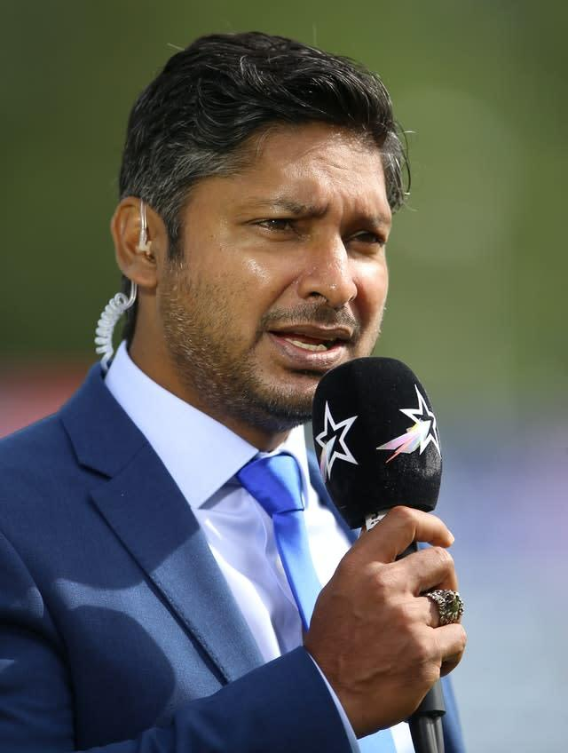 Kumar Sangakkara is set to remain MCC president for a second 12-month term (Nigel French/PA)
