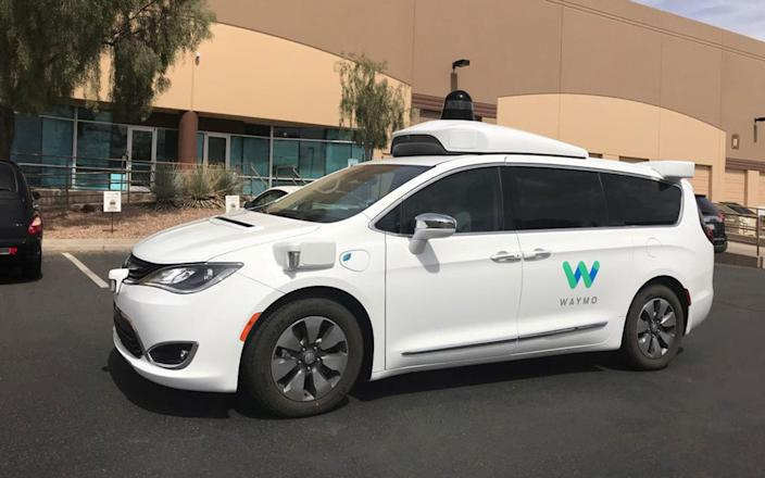 Waymo - Heather Somerville /REUTERS