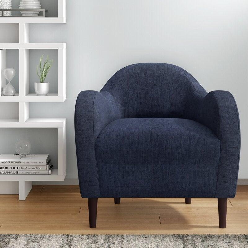 "<br><br><strong>Wrought Studio</strong> Reider Armchair, $, available at <a href=""https://go.skimresources.com/?id=30283X879131&url=https%3A%2F%2Fwww.wayfair.com%2Ffurniture%2Fpdp%2Fwrought-studio-reider-armchair-vrkg6881.html"" rel=""nofollow noopener"" target=""_blank"" data-ylk=""slk:Wayfair"" class=""link rapid-noclick-resp"">Wayfair</a>"