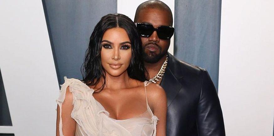 """Kim and Kanye Are Reportedly Staying on """"Opposite Ends of the House"""" to ..."""