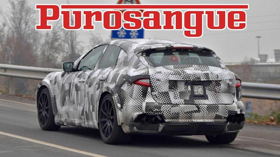 Ferrari Purosangue SUV Spied During Road Testing