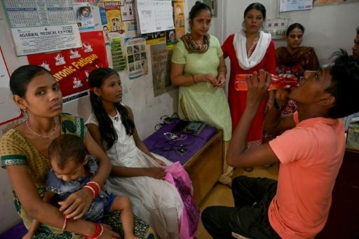Tuberculosis killed 421,000 in India in 2017 according to the World Health Organization