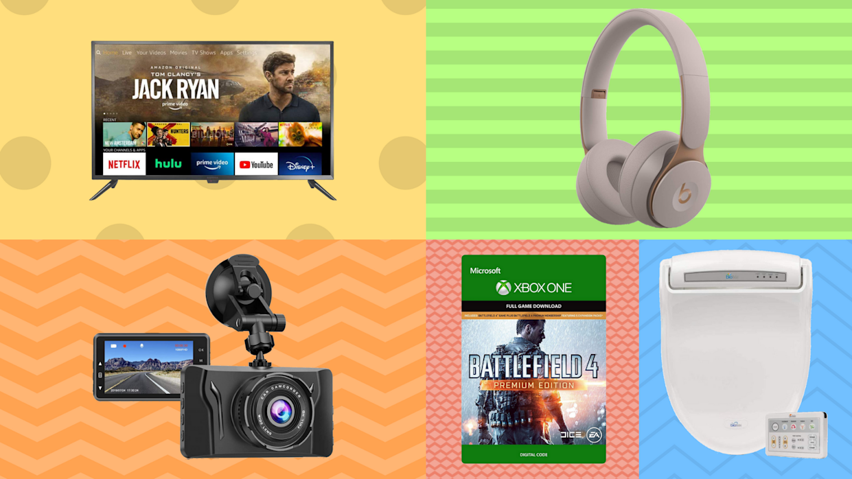 Score up to 85 percent off everything from video games to bidets. (Photo: Amazon)