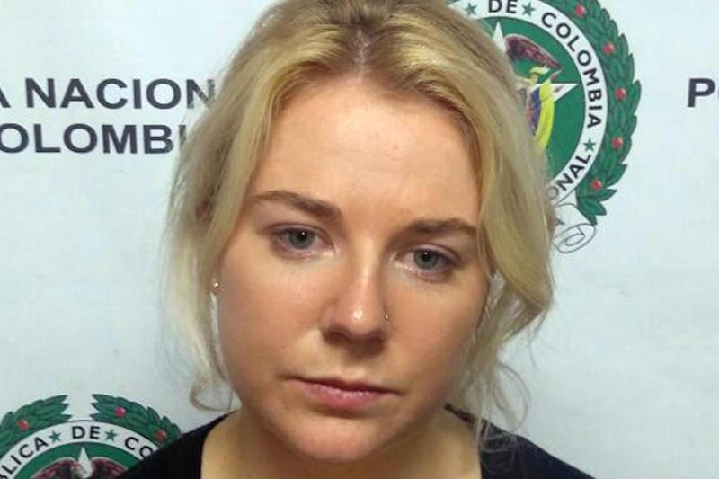 Cassandra Sainsbury, who faces more than 20 years in prison if she is found guilty: EPA