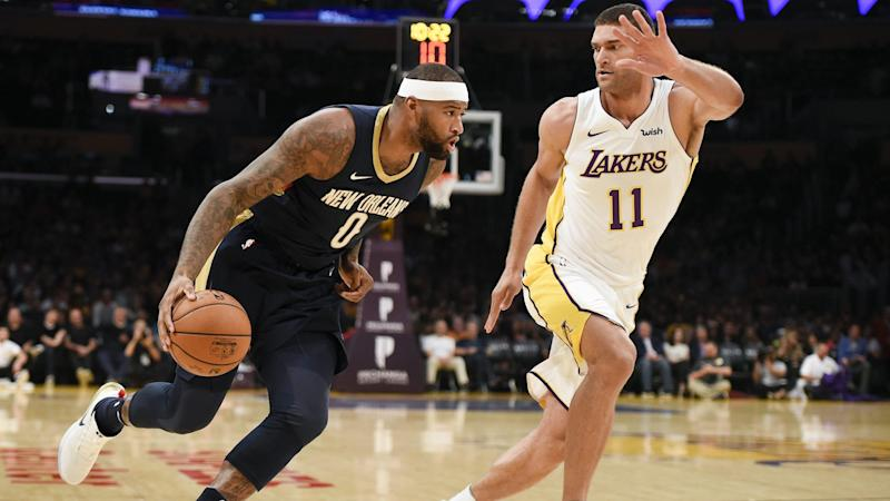Report  Lakers passed on signing DeMarcus Cousins for salary similar to  Warriors deal a60e2ad59