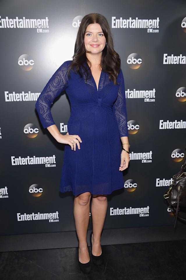"Casey Wilson (""Happy Endings"") attends the Entertainment Weekly and ABC Upfront VIP Party at Dream Downtown on May 15, 2012 in New York City."