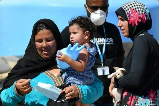 Over 2,000 migrants arrived last week alone, according to the UN Refugee Agency -- more than double the previous week