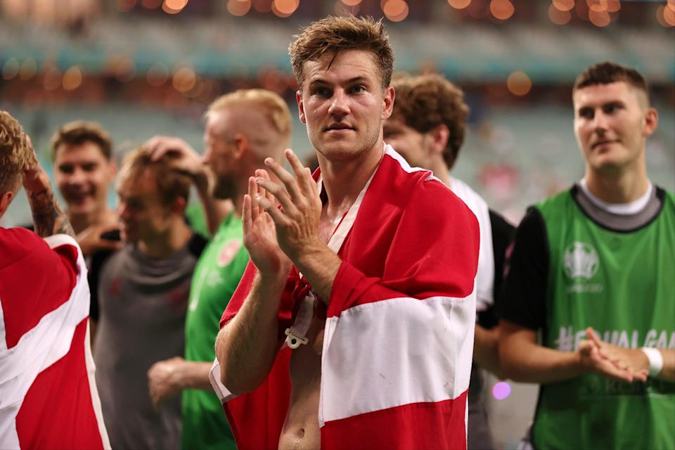 Andersen played for Denmark at Euro 2020 (Getty Images)