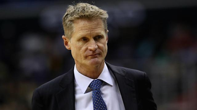 The Warriors fell big time to the Jazz in a 129-99 loss, and coach Steve Kerr wasn't afraid to share his opinion.