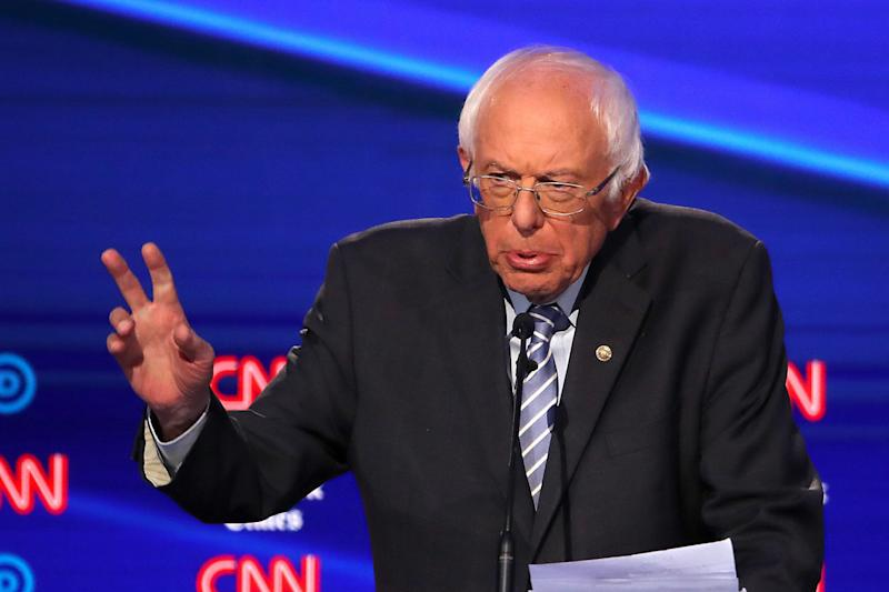 Sen. Bernie Sanders (I-Vt.) is aiming for a show of force with a rally at Queensbridge Park in Queens, New York, on Saturday. It's his first campaign event since suffering a heart attack. (Photo: Win McNamee/Getty Images)