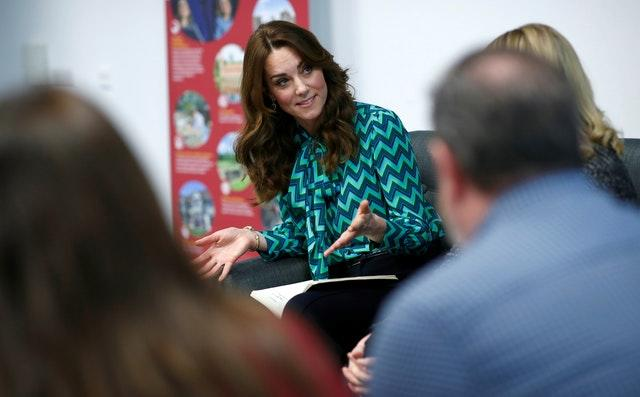 The Duchess of Cambridge attends the launch of a UK-wide survey on early childhood at Thinktank, Birmingham Science Museum
