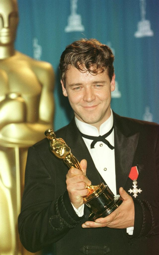 Oscars Russell Crowe