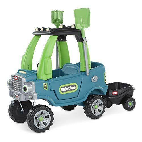 "<p><strong>Little Tikes</strong></p><p>amazon.com</p><p><strong>$119.99</strong></p><p><a href=""https://www.amazon.com/dp/B085JJ9QV3?tag=syn-yahoo-20&ascsubtag=%5Bartid%7C10055.g.34425717%5Bsrc%7Cyahoo-us"" rel=""nofollow noopener"" target=""_blank"" data-ylk=""slk:Shop Now"" class=""link rapid-noclick-resp"">Shop Now</a></p><p>The iconic and beloved <a href=""https://www.amazon.com/Little-Tikes-Cozy-Coupe-Anniversary/dp/B001NQHN7S"" rel=""nofollow noopener"" target=""_blank"" data-ylk=""slk:Cozy Coupe"" class=""link rapid-noclick-resp"">Cozy Coupe</a> is celebrating 30 years. It's a staple in people's backyards and on school playgrounds for a reason – it's safe, durable, and kids love it! This new-fangled version incorporates many of the beloved features that made the original such a success, <em>and</em> incorporates aspects to teach children about sustainability. <strong>We love that it is also constructed using more eco-conscious principles </strong>(it won a <a href=""https://www.goodhousekeeping.com/home-products/a34227133/2020-sustainable-innovation-awards/"" rel=""nofollow noopener"" target=""_blank"" data-ylk=""slk:Good Housekeeping Sustainable Innovation Award"" class=""link rapid-noclick-resp"">Good Housekeeping Sustainable Innovation Award</a>) – the packaging uses no foam, no pulp padding, no paper padding, and no peanuts, and the actual truck is made from recycled materials that can be recycled at the end of life. </p><p><strong><strong>Ages:</strong> </strong>1.5-5 years old</p>"