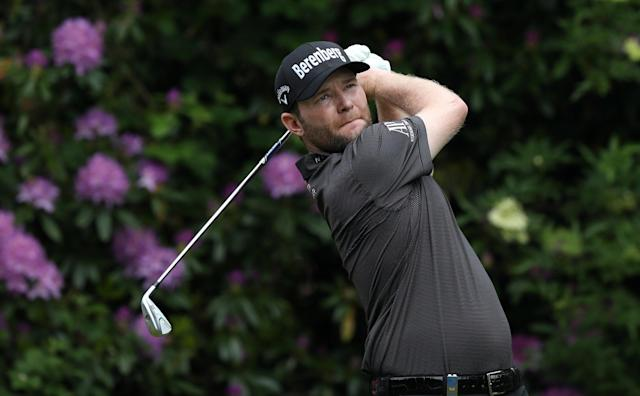 Golf - European Tour - BMW PGA Championship - Wentworth Club, Virginia Water, Britain - May 27, 2018 South Africa's Branden Grace in action during the final round Action Images via Reuters/Peter Cziborra