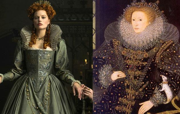 New images of Margot as Queen Elizabeth I show she's done it again. Source: Austral Scope/ Supplied