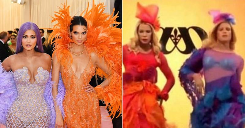 a61d03694f Marlon Wayans Hilariously Compares Kendall and Kylie Jenner s Met Gala Looks  to White Chicks