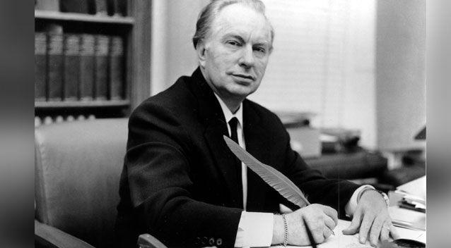 Scientology was founded by pulp science fiction write L Ron Hubbard. Photo: Getty