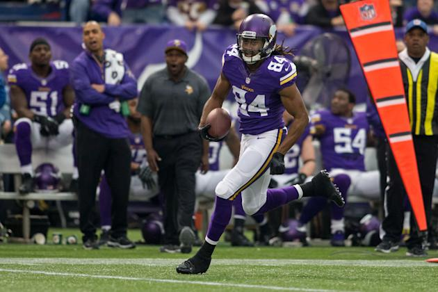 Dec 29, 2013; Minneapolis, MN, USA; Minnesota Cordarrelle Patterson should be much busier in '14 (USAT)