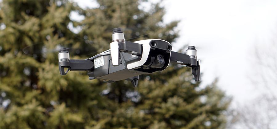 The new Mavic Pro is incredibly tiny, stable, and lightweight.
