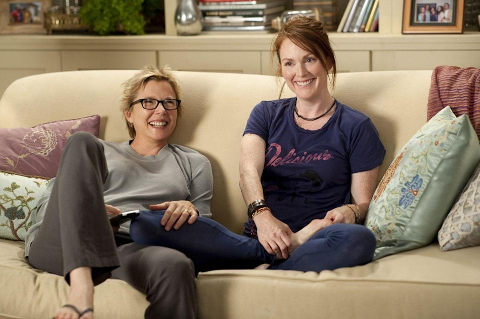 Photo credit: Julianne Moore and Anette Bening in 'The Kids Are Alright' - Shutterstock