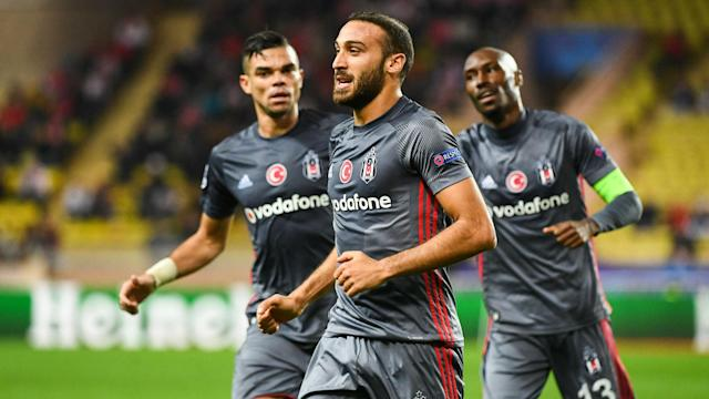 Monaco suffered yet another poor result in the Champions League as Besiktas came from behind to maintain their 100% record in Group G.