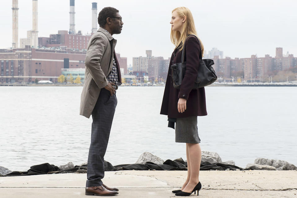 "<p>From the beginning, <em>Daredevil</em> has been concerned with characters who uncover truth, whether through vigilante activity or journalistic integrity. The Ben Urich story, which then became Karen Page's story, is something that seems to take on a new and different meaning every year. Season 1, it was about taking down Wilson Fisk. Season 2, it became about uncovering the truth behind the murder of Frank Castle's family. Maybe it's <em>The X-Files</em> still in my DNA, but ""the truth is out there"" is a hell of a dramatic motor in TV. (Credit: Barry Wetcher) </p>"