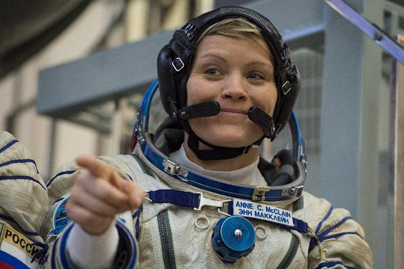 NASA astronaut Anne McClain, 40, completed two spacewalks (AFP Photo/STR)