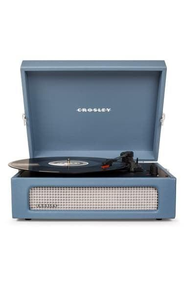 <p>We all know someone who would love this <span>Crosley Radio Voyager Turntable</span> ($90).</p>