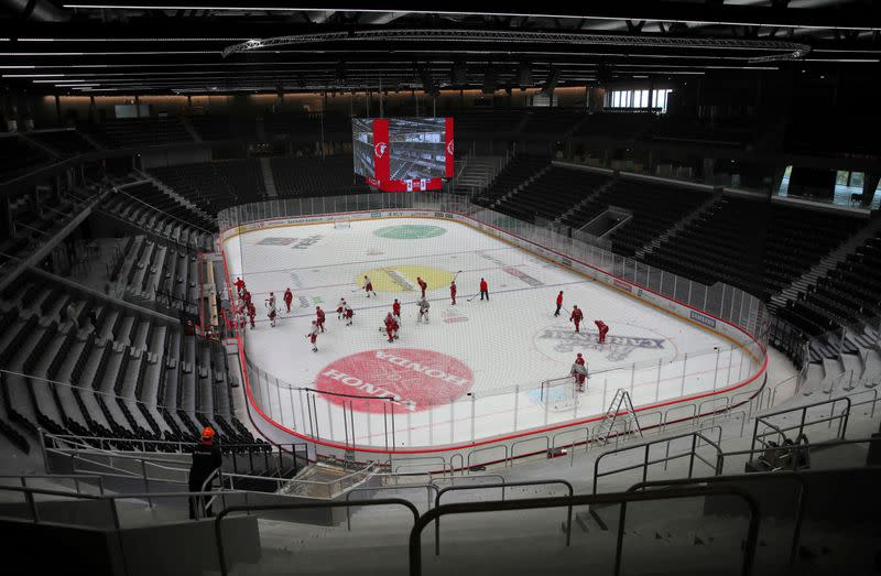 Switzerland launches rescue package for soccer and ice hockey