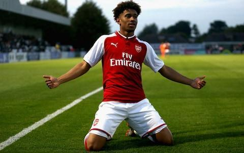 <span>Reiss Nelson is Arsenal's best young prospect</span> <span>Credit: Getty Images </span>