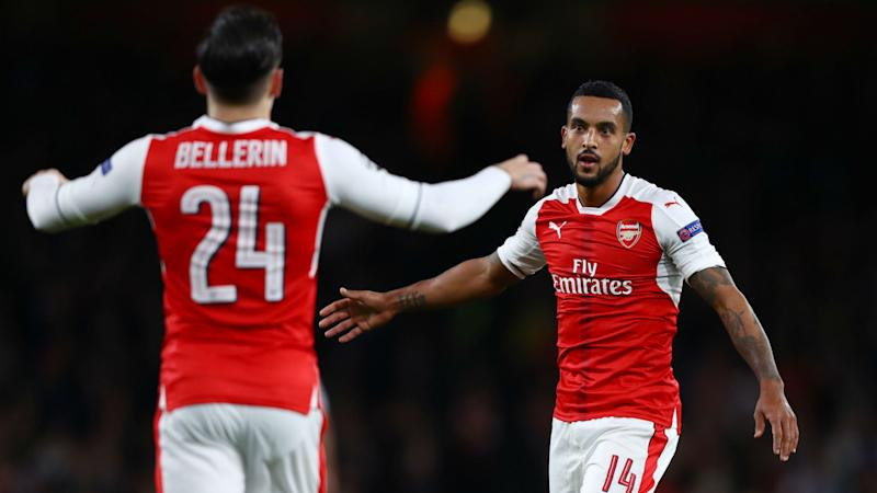 Walcott: Arsenal's Ludogorets rout was not easy