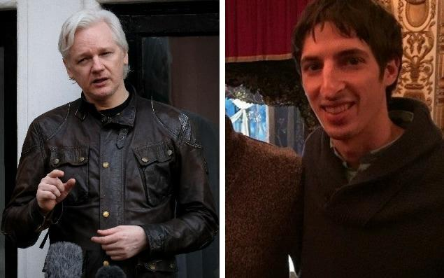 The Wikileaks founder has sprung to his defence - Christopher Pledger/Facebooj