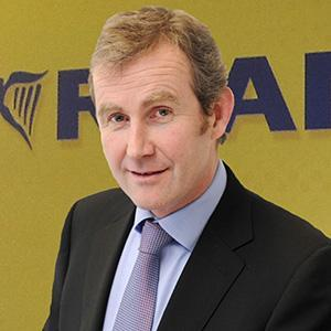 Mr Hickey had been with the company for 30 years (Ryanair)