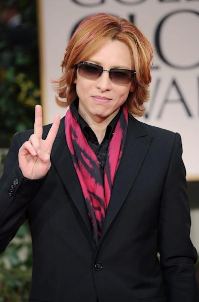 Yoshiki says the band's new album, to come out sometime in 2018, will also be its first almost entirely in English and geared primarily to an international audience (AFP Photo/Jason Merritt)