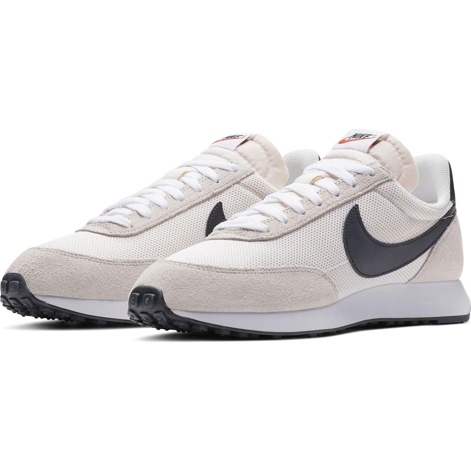 """<p><strong>Nike</strong></p><p>nordstrom.com</p><p><a href=""""https://go.redirectingat.com?id=74968X1596630&url=https%3A%2F%2Fwww.nordstrom.com%2Fs%2Fnike-air-tailwind-79-sneaker-men%2F6422084&sref=https%3A%2F%2Fwww.esquire.com%2Fstyle%2Fmens-fashion%2Fg37002225%2Fnordstrom-anniversary-sale-mens-fashion-deals-2021%2F"""" rel=""""nofollow noopener"""" target=""""_blank"""" data-ylk=""""slk:Shop Now"""" class=""""link rapid-noclick-resp"""">Shop Now</a></p><p><strong>Sale: $64.00</strong></p><p><strong>After Sale: $90.00</strong></p><p>A certified banger of a sneaker for a lot less than usual.</p>"""