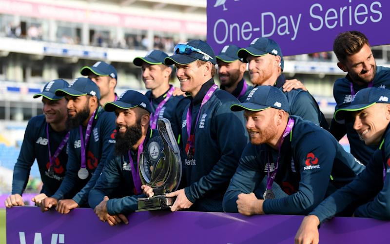 All smiles now...but there are World Cup selection decisions to be made in the coming days - Getty Images Europe