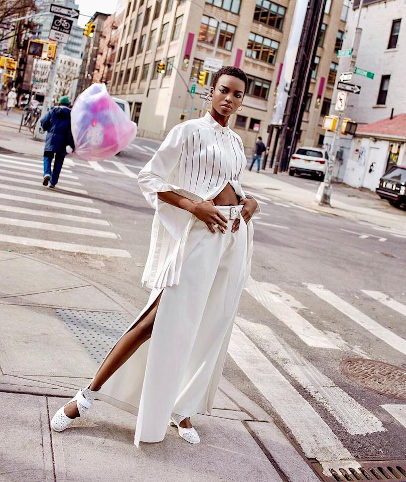 <h2>Maria Borges</h2>                                                                                                                                                                             <p><p><span>When it comes to diversity in the modeling industry, Maria has been making waves since she walked the runway at the Victoria's Secret Fashion Show in 2015 with her natural hair. Andthis month, the 24-year-oldbecame</span><span>the first African woman </span><i><span>this century</span></i><span> to appear on the coverof <em>Elle</em>(the last was Alek Wek in 1997).</span></p>                                                                                                                                                                               <h4>@iammariaborges</h4>