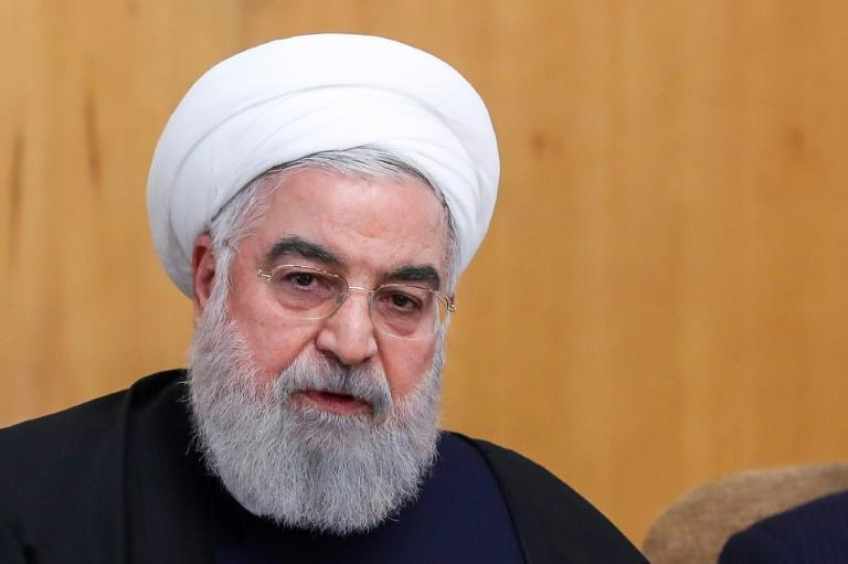 President Hassan Rouhani said Iran 'deeply regrets this disastrous mistake' (AFP Photo/HO)
