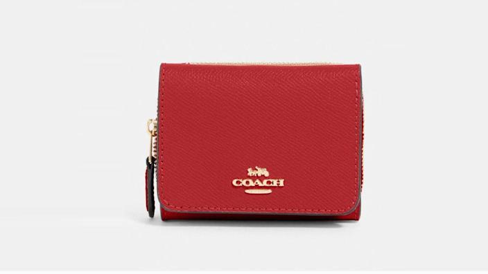This chic wallet is less than $50 right now.