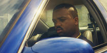 """This image provided by IYO Visuals shows Rosha Washington as DJ Screw in a scene from the visual tribute """"All Screwed Up."""" (IYO Visualls via AP)"""