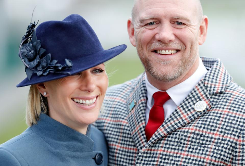 Mike Tindall has revealed how Zara Phillips is finding being pregnant in a pandemic, pictured in March 2020. (Getty Images)